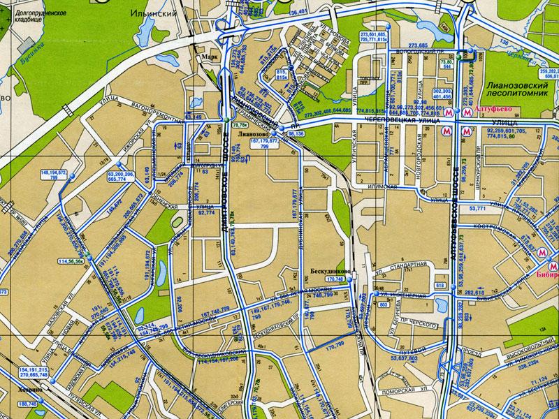 Карта МОСКВА. Как проехать до…